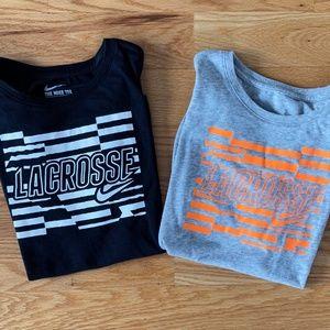 Nike Lot of *2* Dri-Fit Lacrosse Tees (M)